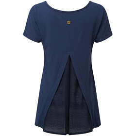 Sherpa Maya - T-shirt manches courtes Femme - bleu